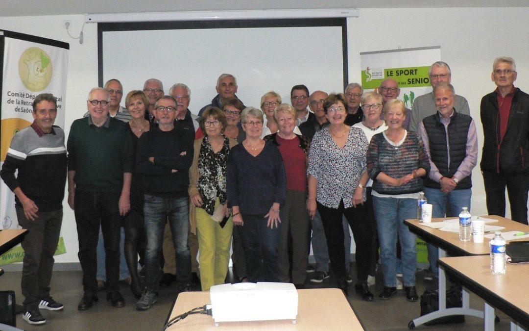 COMITE  DIRECTEUR  DU  CODERS 71 en Bourgogne Franche Comté
